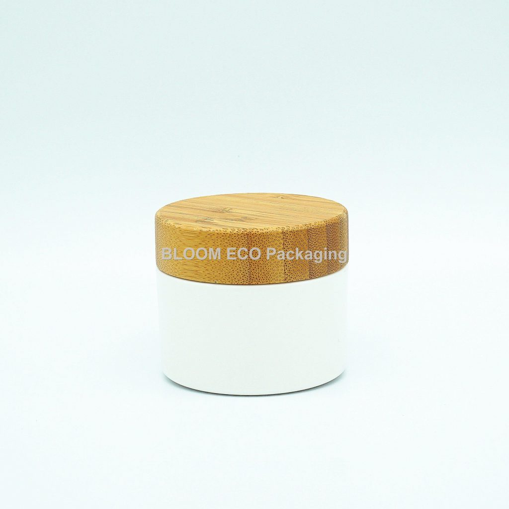 Bamboo PLA Cosmetic Containers Cream Jar