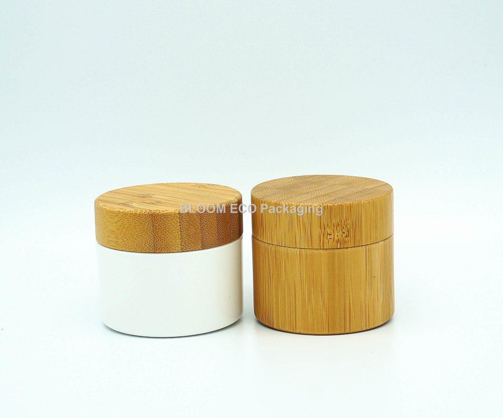 Bamboo Cosmetics Jar