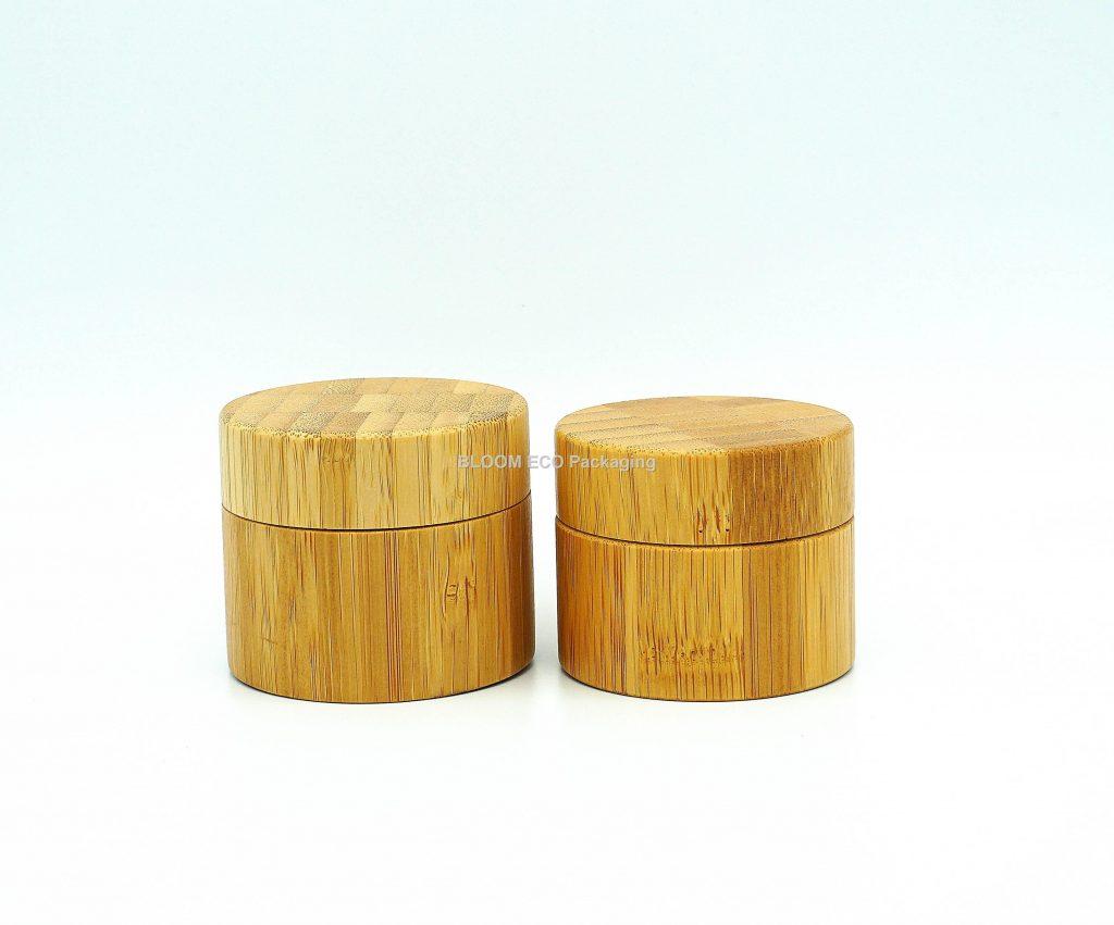 Glass Bamboo Cream Jar CJ3001