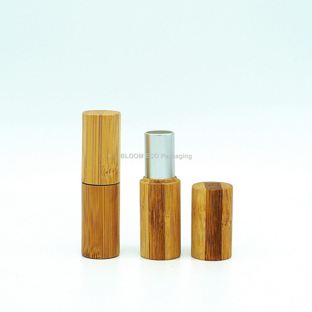 Biodegradable Bamboo Lipstick Case