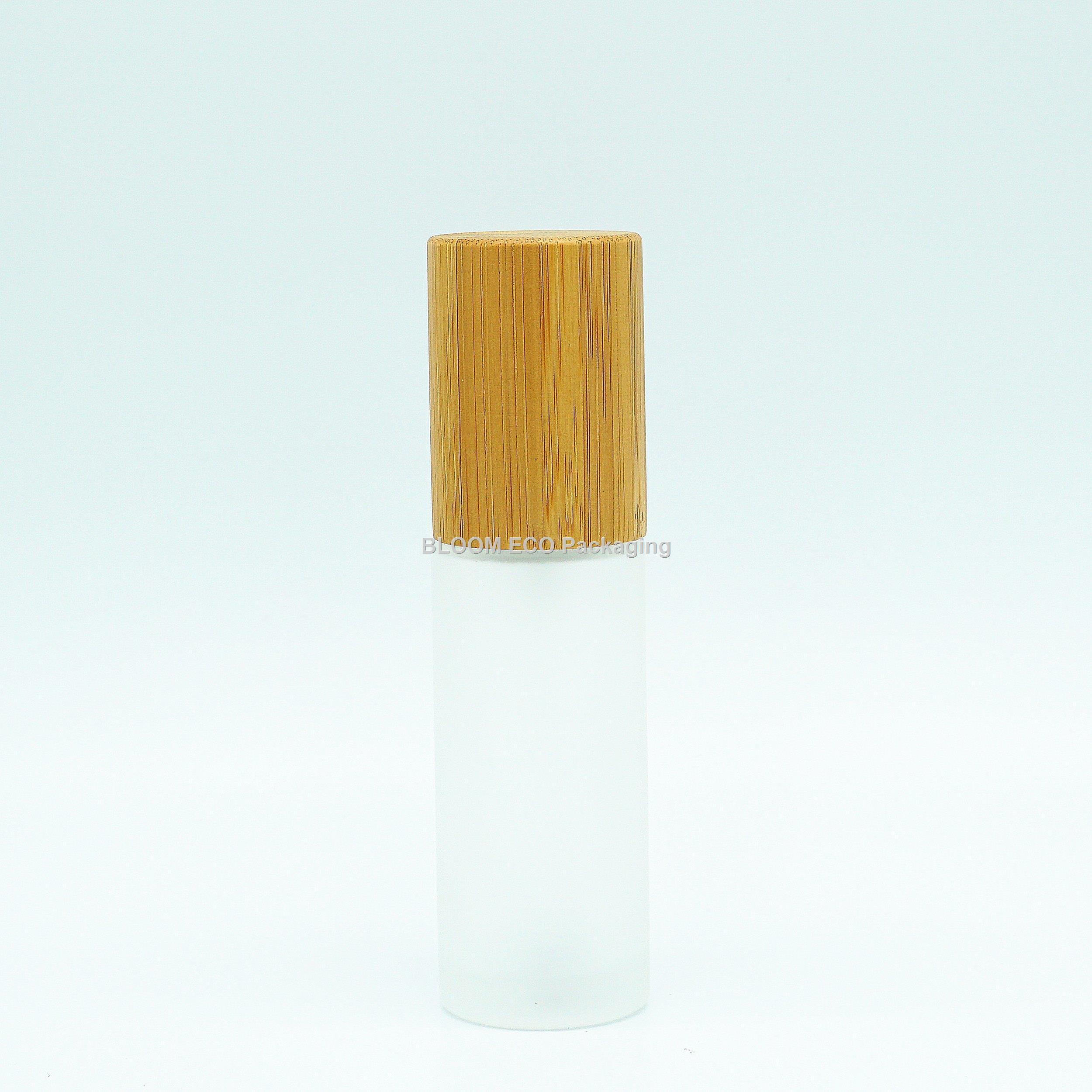 Glass Bmboo Lotion Bottle LD1001