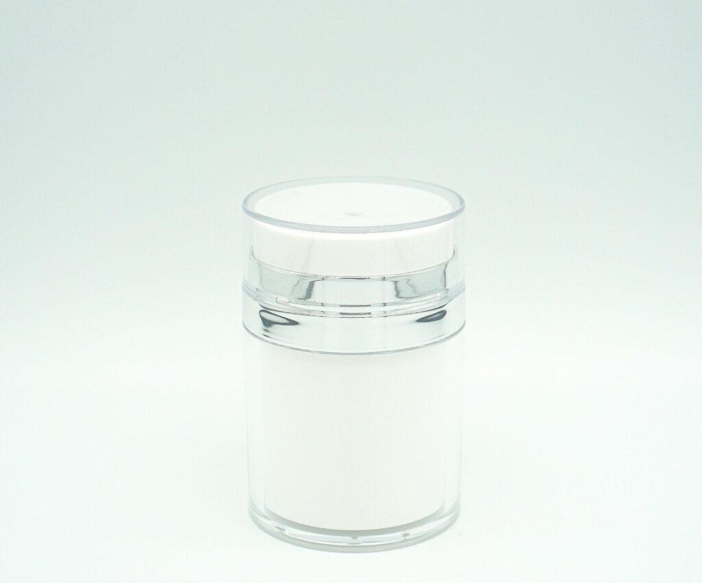 Refillable Airless Cream Jar